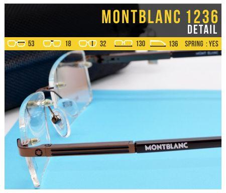 Trend Kacamata Baca Terbaru MontBlanc 1236 Murah