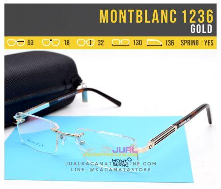 Model Kacamata Baca Terbaru MontBlanc 1236 Gold
