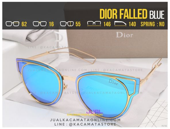 Model Kacamata Fashion Terbaru Dior Falled Blue