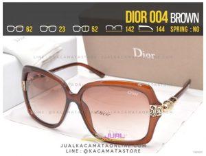 Gambar Kacamata Cewek Murah Dior 004 Brown
