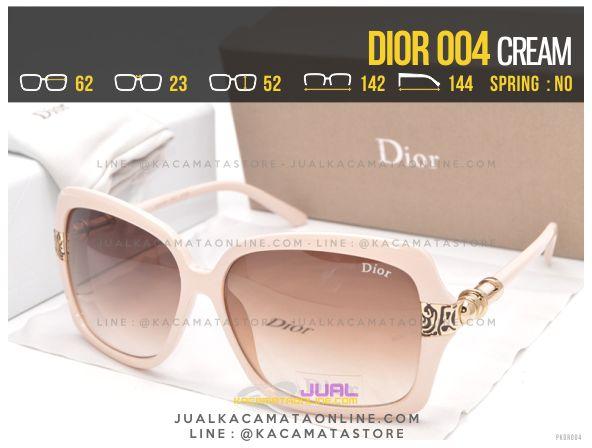 Model Kacamata Cewek Murah Dior 004 Cream