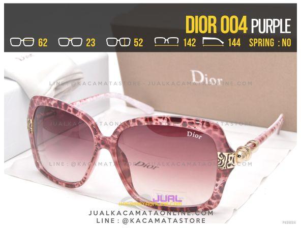 Jual Kacamata Cewek Murah Dior 004 Purple