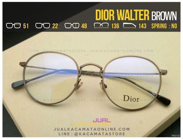 Model Frame Kacamata Minus Dior Walter Brown