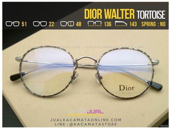 Trend Frame Kacamata Minus Dior Walter Tortoise