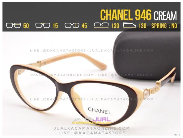Gambar Kacamata Baca Murah Chanel 946 Cream