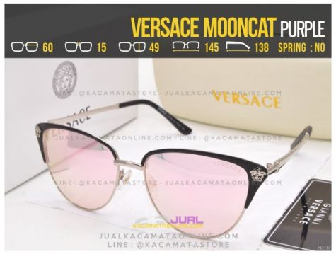 Model Kacamata Fashion Versace Mooncat Purple