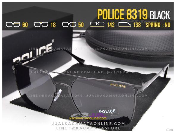 Trend Kacamata Gaya Police 8319 Black