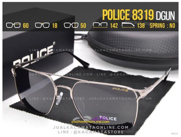 Model Kacamata Gaya Police 8319 Dgun