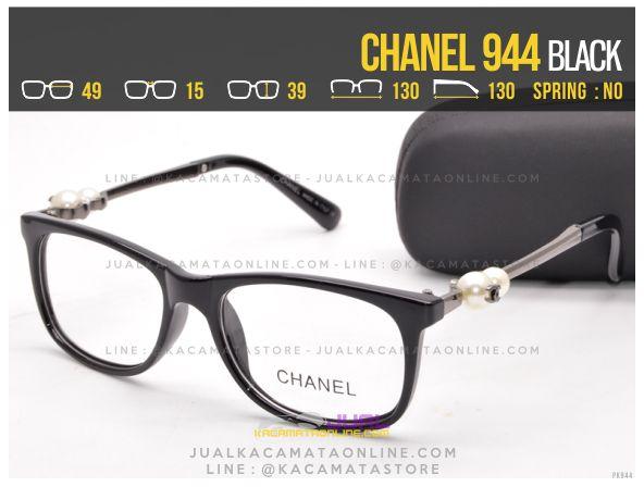 Jual Kacamata Minus Murah Chanel 944 Black