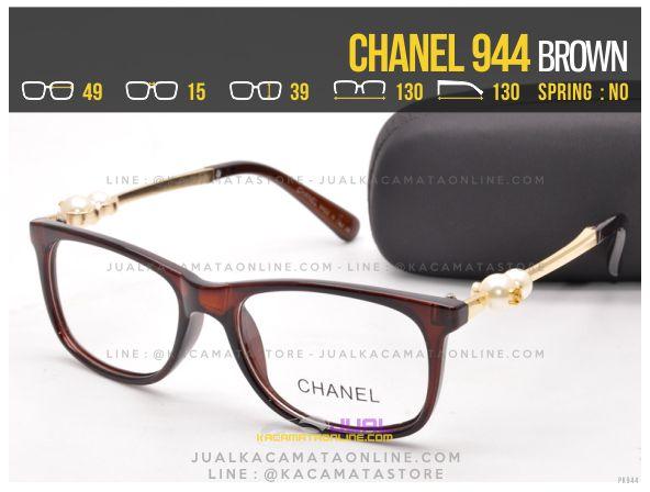 Trend Kacamata Minus Murah Chanel 944 Brown