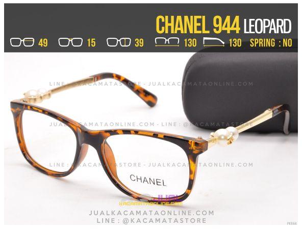 Model Kacamata Minus Murah Chanel 944 Leopard