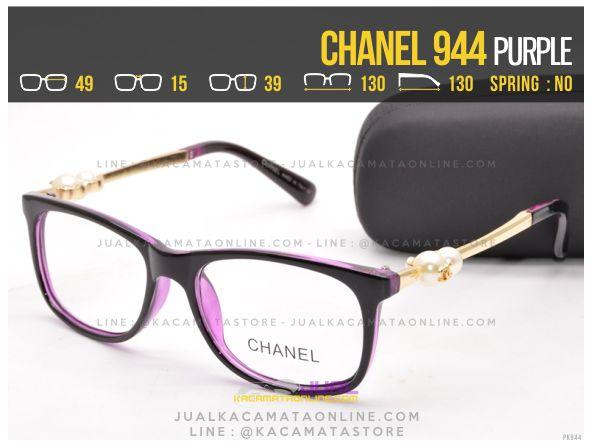 Gambar Kacamata Minus Murah Chanel 944 Purple