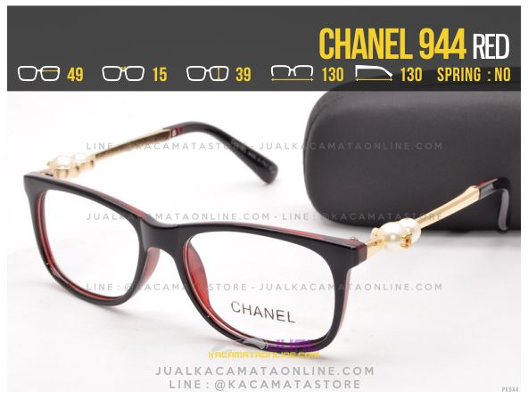 Jual Kacamata Minus Murah Chanel 944 Red