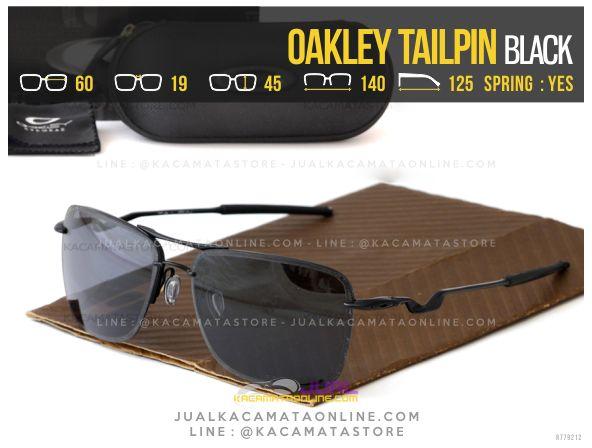 Trend Kacamata Polarized Terbaru Oakley Tailpin Black