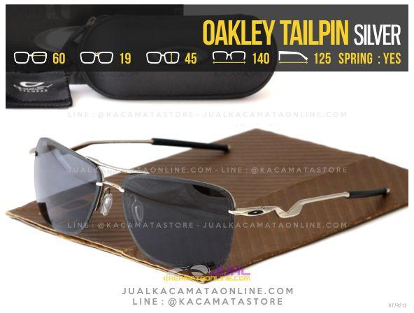 Model Kacamata Polarized Terbaru Oakley Tailpin Silver