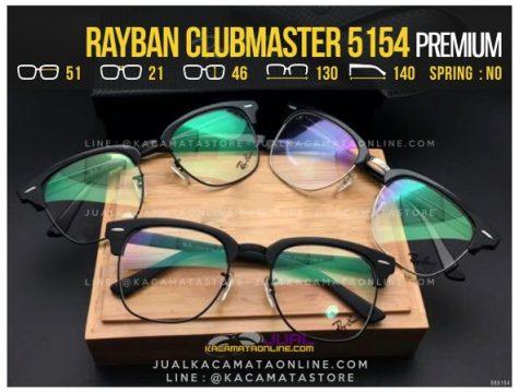 Jual Kacamata Retro Rayban Clubmaster RB5154 Premium