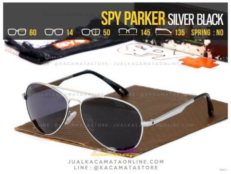 Jual Kacamata Spy Parker Silver Black