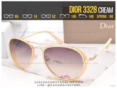 Trend Kacamata Wanita Terbaru Dior 3328 Cream