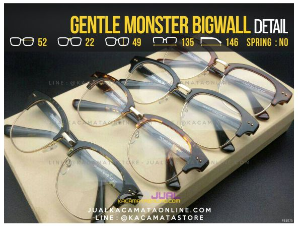 Model Kacamata Bulat Gentle Monster Bigwall Terbaru