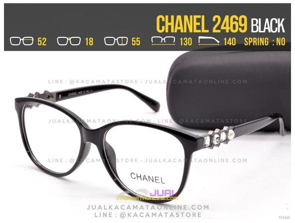 Model Kacamata Minus Terbaru Chanel 2469 Black