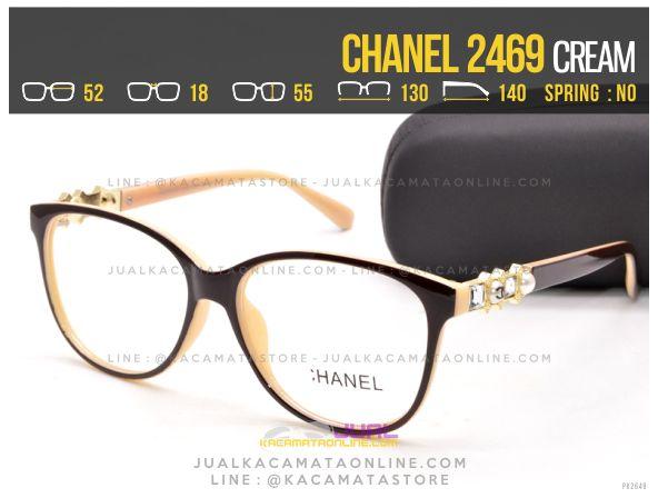 Trend Kacamata Minus Terbaru Chanel 2469 Cream