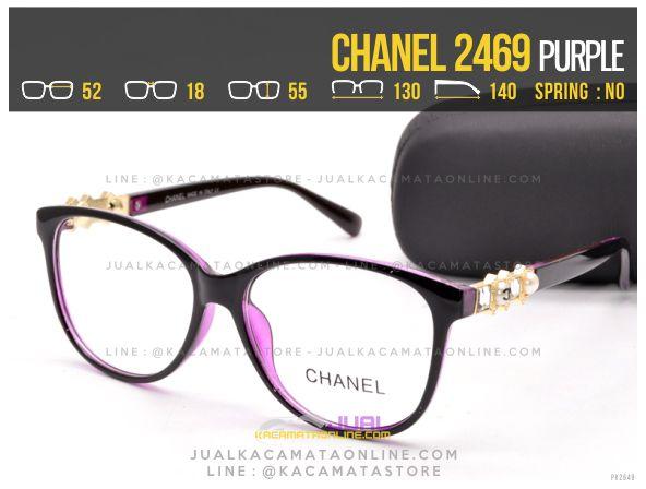 Jual Kacamata Minus Terbaru Chanel 2469 Purple