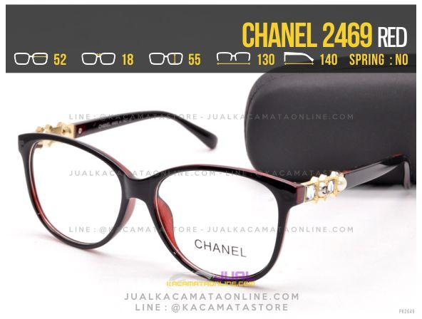 Model Kacamata Minus Terbaru Chanel 2469 Red