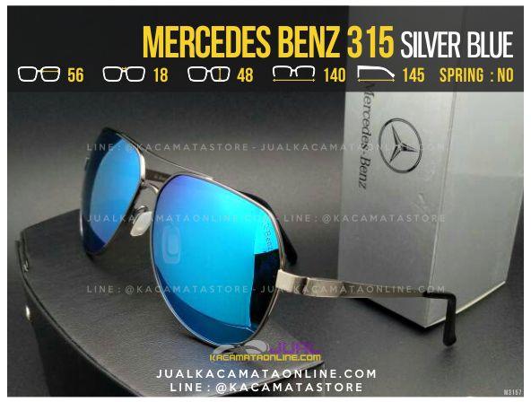 Harga Kacamata Pria Terbaru Mercedes Benz 315 Blue