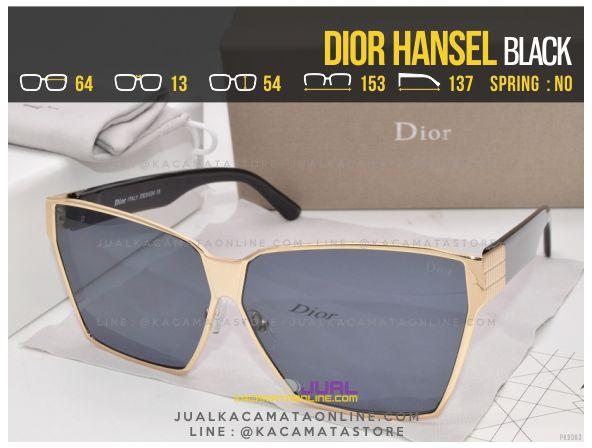 Trend Kacamata Wanita Terbaru Dior Hansel Black