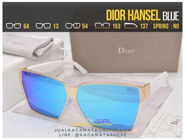 Gambar Kacamata Wanita Terbaru Dior Hansel Blue