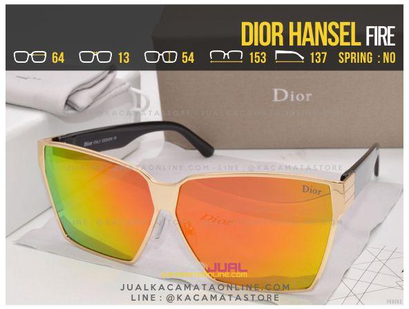 Jual Kacamata Wanita Terbaru Dior Hansel Fire