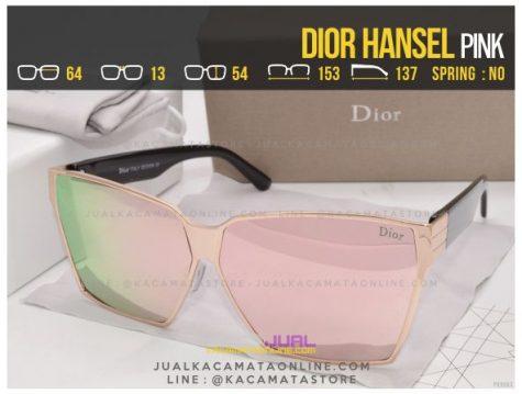 Model Kacamata Wanita Terbaru Dior Hansel Pink