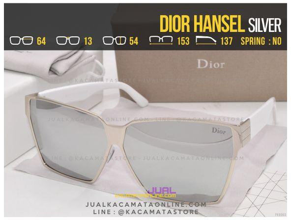 Model Kacamata Wanita Terbaru Dior Hansel Silver