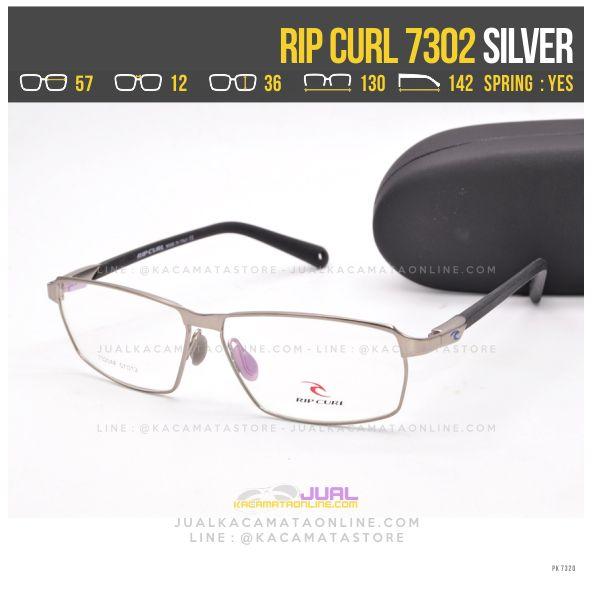 Trend Frame Kacamata Pria Terbaru Ripcurl 7301 Silver