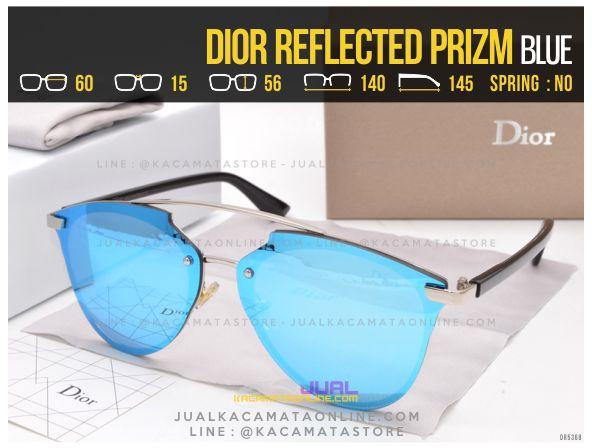 Trend Kacamata Cewek Terlaris 2017 Dior Reflected Prizm Blue