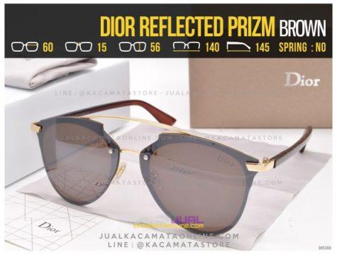 Model Kacamata Cewek Terlaris 2017 Dior Reflected Prizm Brown