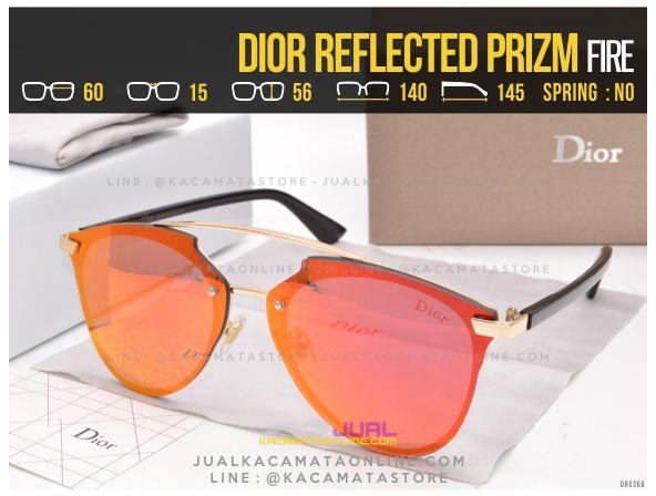 Jual Kacamata Cewek Terlaris 2017 Dior Reflected Prizm Fire