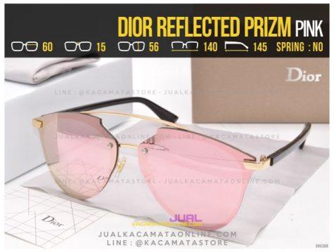 Gambar Kacamata Cewek Terlaris 2017 Dior Reflected Prizm Pink