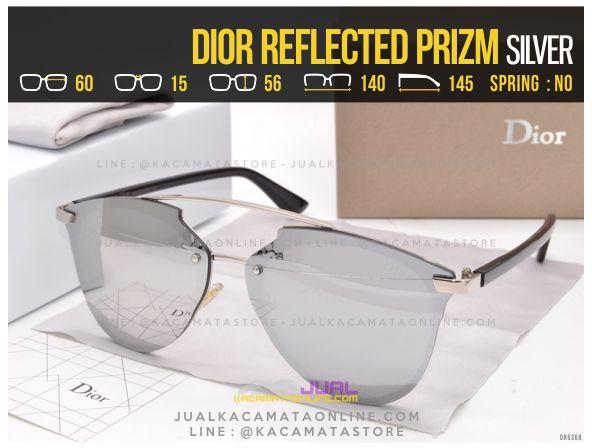 Grosir Kacamata Cewek Terlaris 2017 Dior Reflected Prizm Silver