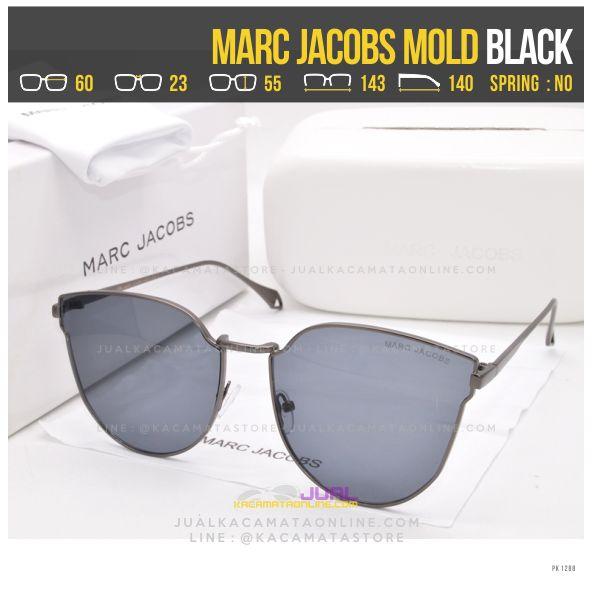 Trend Kacamata Wanita Terlaris Marc Jacobs Mold Black