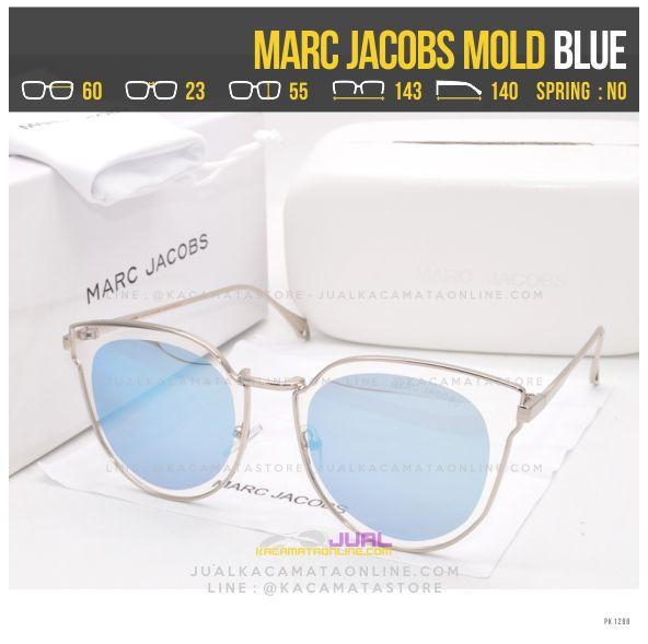 Model Kacamata Wanita Terlaris Marc Jacobs Mold Blue