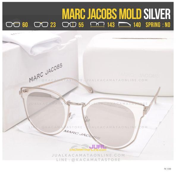 Grosir Kacamata Wanita Terlaris Marc Jacobs Mold Silver