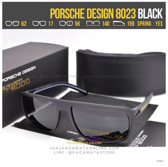 Jual Kacamata Gaya Terbaru Porsche Design 8023 Black