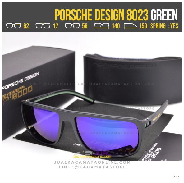 Model Kacamata Gaya Terbaru Porsche Design 8023 Green