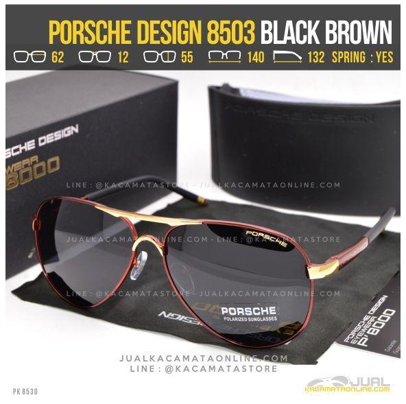 Trend Kacamata Pria Terbaru Porsche Design 8503 Black Brown