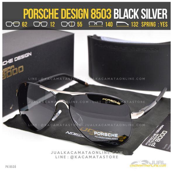 Jual Kacamata Pria Terbaru Porsche Design 8503 Black silver
