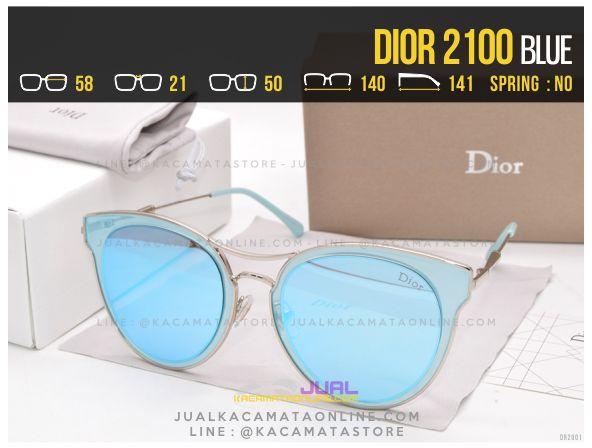 Harga Kacamata Wanita Terbaru 2017 Dior 2100 Blue