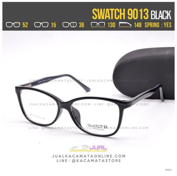 Trend Kacamata Murah Swatch 9013 Black