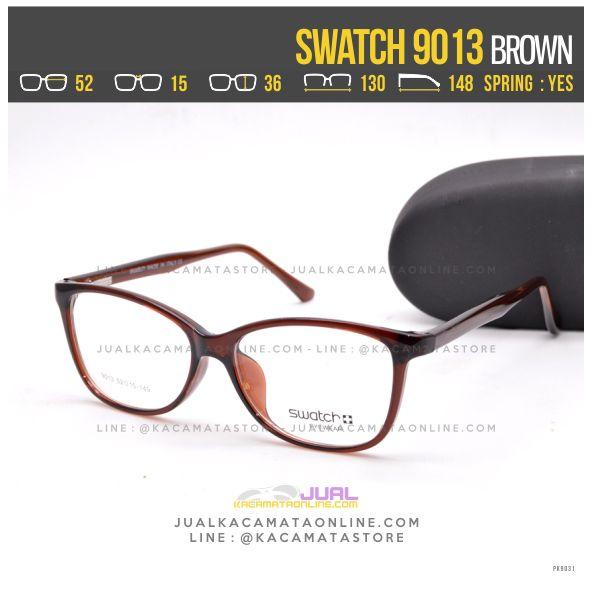 Grosir Kacamata Murah Swatch 9013 Brown