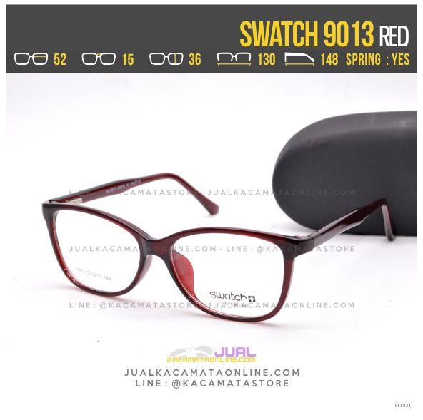 Toko Kacamata Murah Swatch 9013 Red